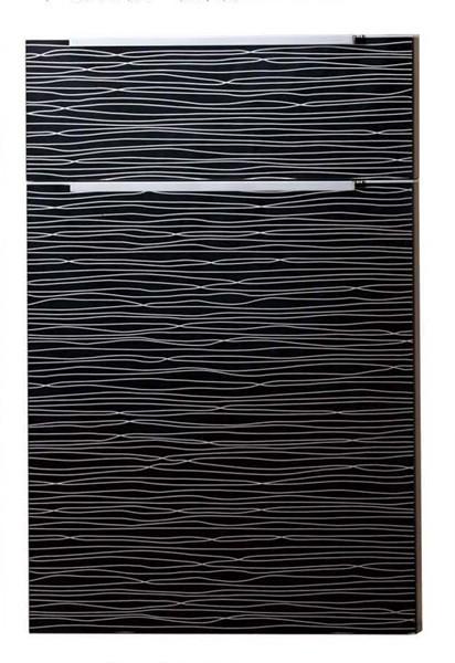 Awe Inspiring Natural Texture Acrylic Kitchen Cabinet Door Interior Design Ideas Inesswwsoteloinfo