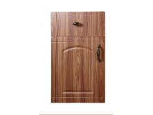 flame resistant PVC kitchen cabinet door