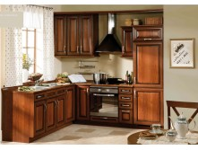 modular solid wood kitchen cabinet designs