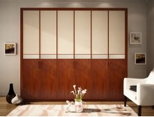 fashion style sliding door wardrobe