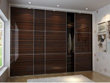 Moisture-proof bedroom sliding door wardrobe