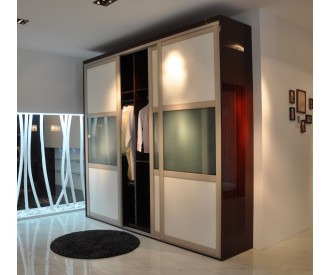 high glossy Wardrobe sliding door