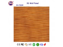 decorative 3D MDF wall panel for restaurant decor