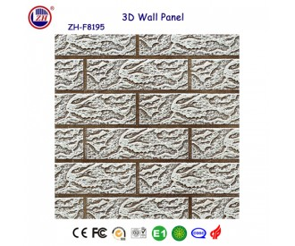 lobby decoration 3d wall panel
