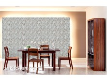 Pop art style decorative wall paneling for living room