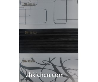 Decorative acrylic sheet for kitchen cabinet doors