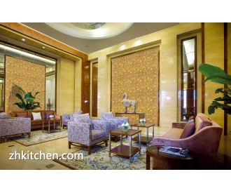 3D decorative wall panels for lobby decoration