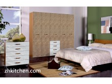 Modern bedroom wardrobes decoration 3d wall panel