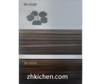 MDF board coated on acrylic sheet wood design