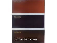 Simple color designed acrylic door sheet for cabinet doors