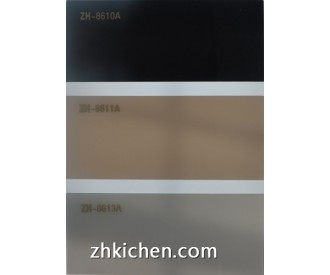 Solid color acrylic sheet for door panel