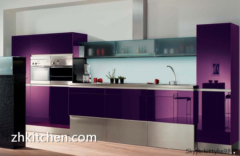 High quality acrylic kitchen cabinet for Kitchen cabinets quality