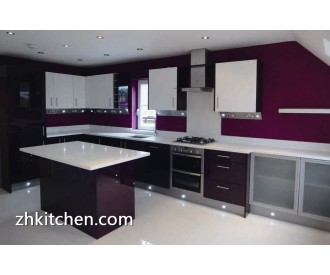 Customized Acrylic kitchen cabinets manufacturer