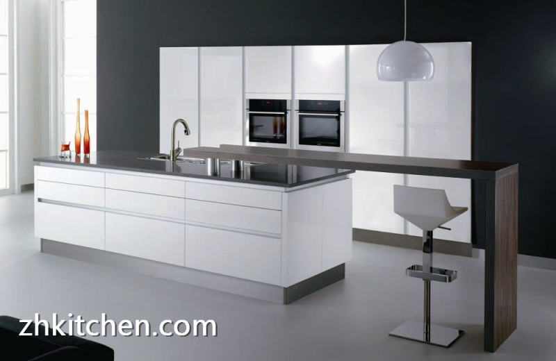 Modern Custom Frameless Kitchen Cabinets