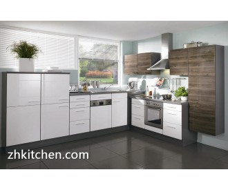 China white high gloss kitchen cabinet