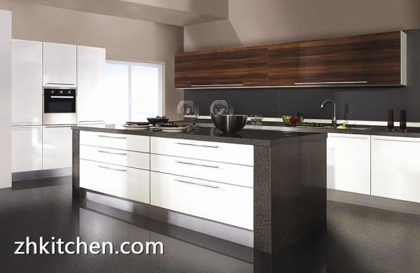 high gloss white kitchen furniture australia style