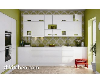 Modern white painting kitchen cabinets