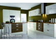 customized modern UV kitchen cabinets
