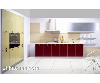 High gloss modern kitchen design