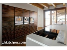 High gloss UV modular kitchen cabinet