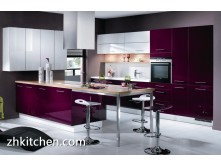 Modular high gloss UV kitchen designs