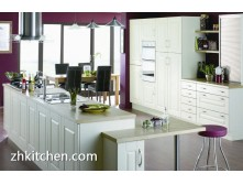Contemporary design PVC kitchen furniture