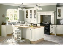 European standard white PVC kitchen cabinet