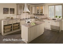 European style PVC assemble kitchen design