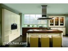 High gloss PVC kitchen cabinets direct from China
