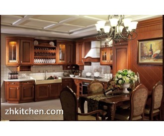 American style solid wood Kitchen cabinets