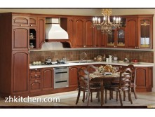 Small kitchen european style solid wood