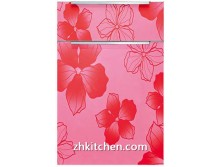 Flower pattern design cabinet door