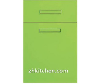 Gloss apple green Replacement cabinet doors