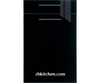 Glossy Black MDF cabinet doors online
