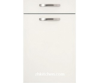Milky white kitchen cabinet doors lacquer painted