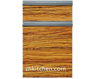 Wooden grain cheap cabinet doors