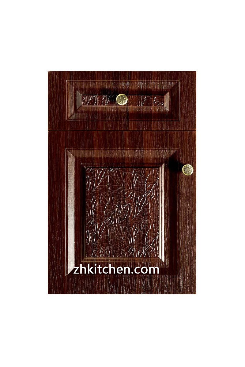 Pvc Cabinet Doors : Red pvc kitchen cabinet doors