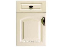 White Melamine PVC Kitchen Cabinet Door