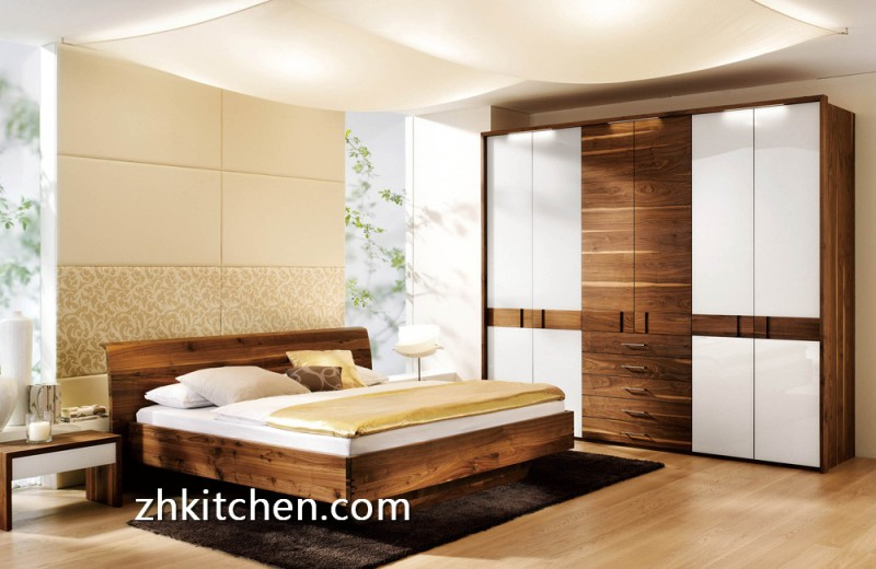 Buy Wooden Wardrobe Sliding Door Online Zhkitchen Com