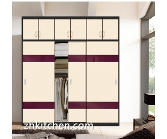 Completely wardrobe sliding door systems