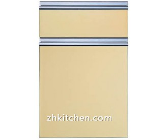 Acrylic custom kitchen cabinet doors in high quality