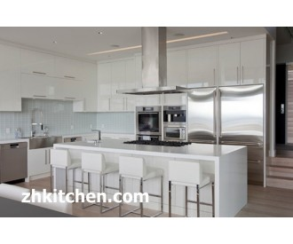 Popular Glossy kitchen cabinet design