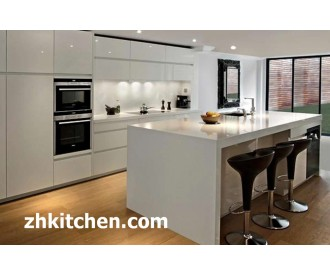 Gloss White Modern Acrylic Kitchen Canbinet