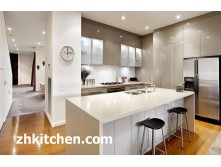 China White Glossy Kitchen Cabinet