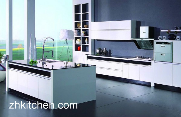 High gloss kitchen cabinets suppliers in china for China kitchen cabinets manufacturers