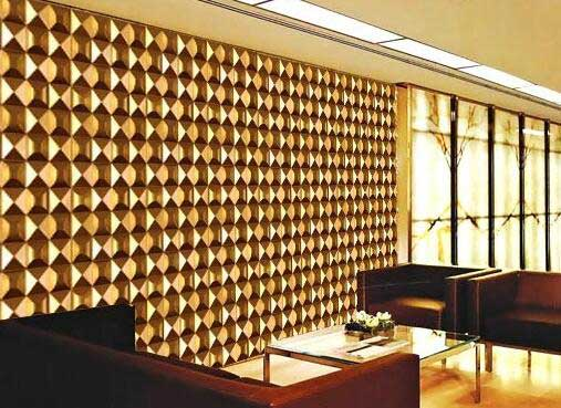 ZHUV's Decorative Wall Panels Of Raw Materials