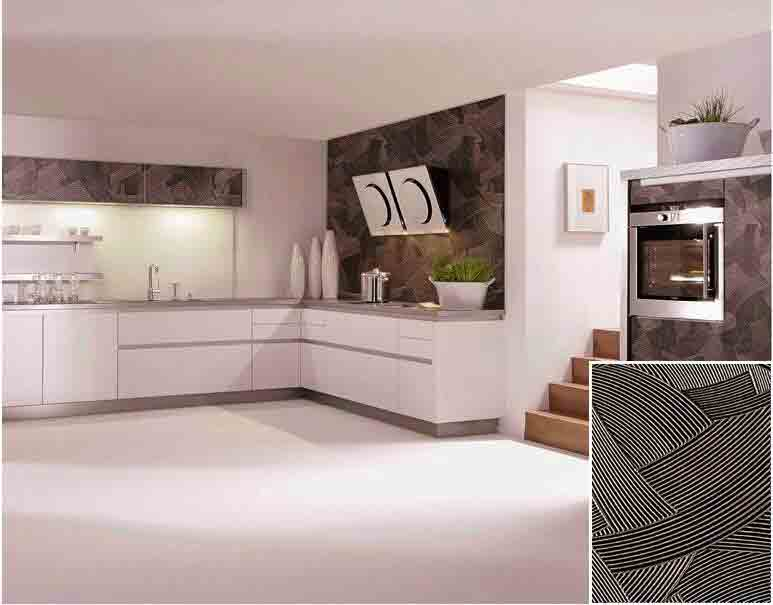 Modern Kitchen Cabinets 3D Decorative Wall Panel