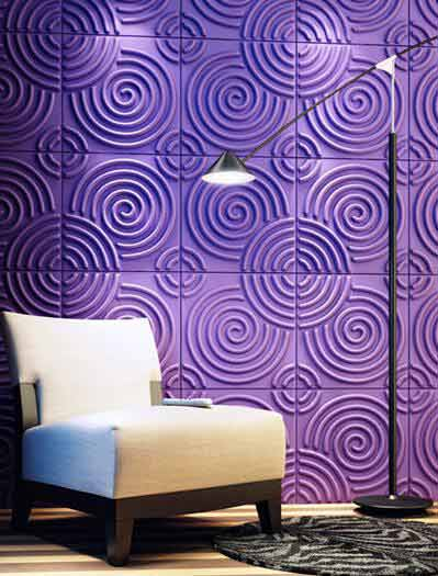 ZHUV's decorative wall panel bring you safe living environment