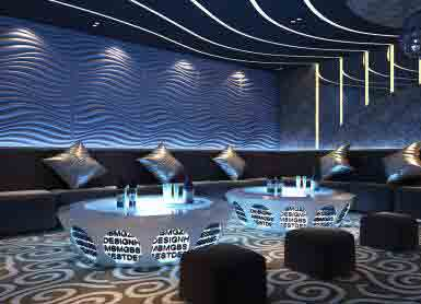 Decorative Wall Panel Of KTV Or Club