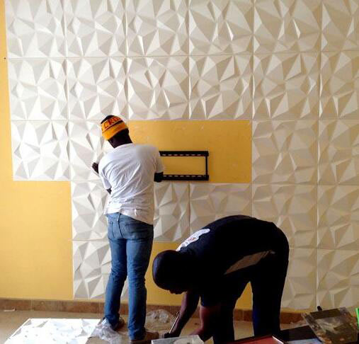 Three Steps To Cut Your Decorative Wall Panel
